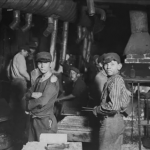 Victorian Children at work-Factory