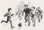 Victorian Toys and Games - Poor Victorian Children Playing