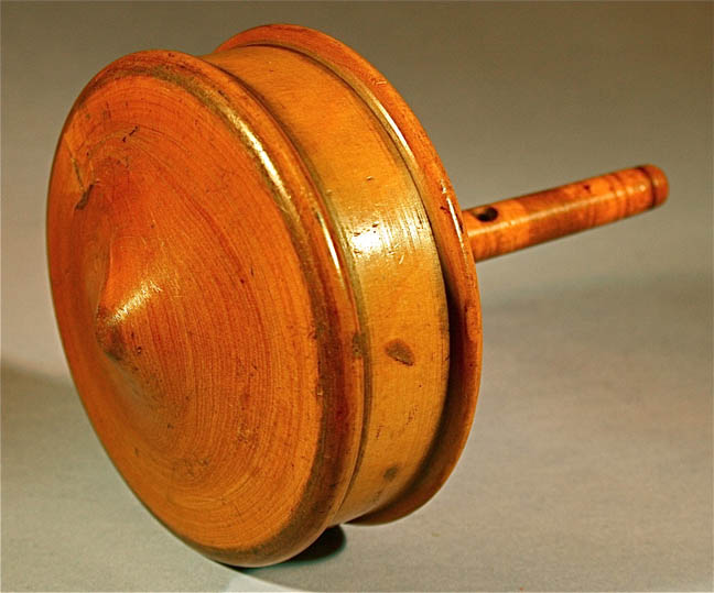 Toy Spinning Top : Victorian toys and games children